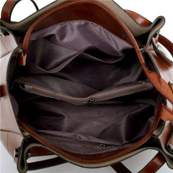 Four Outermost Layer of Skin Car Suture Lash Package Bag - BROWN