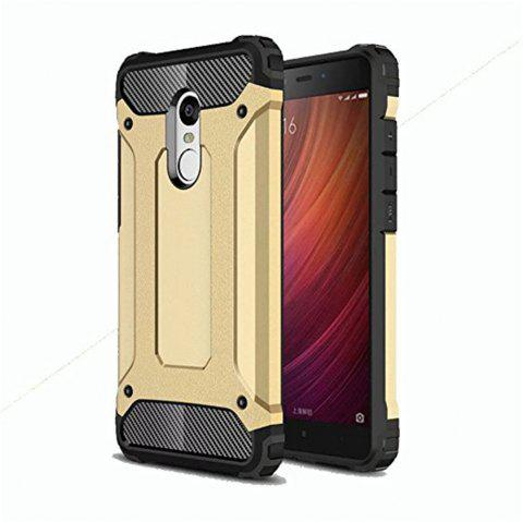 Hybrid Tough Shockproof Armor Hard Phone Cases for Xiaomi Redmi Note 4 / 4X Case - BURLYWOOD
