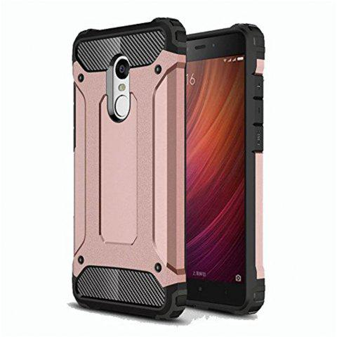 Hybrid Tough Shockproof Armor Hard Phone Cases for Xiaomi Redmi Note 4 / 4X Case - ROSE