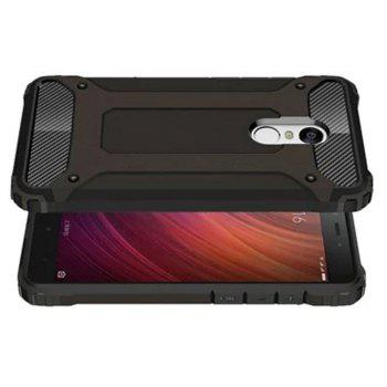 Hybrid Tough Shockproof Armor Hard Phone Cases for Xiaomi Redmi Note 4 / 4X Case - BLACK