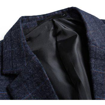 Men's Lattices and Long Sleeved Suits - BLUE XL