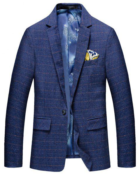 Men's Leisure Long Sleeved Suit - BLUE XL