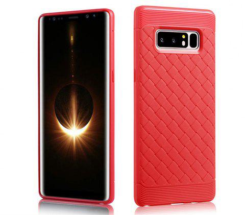 Cover Case for Samsung Galaxy Note 8 Luxury Soft Silicone TPU Ultra-thin Slim Back Coque Fundas - RED