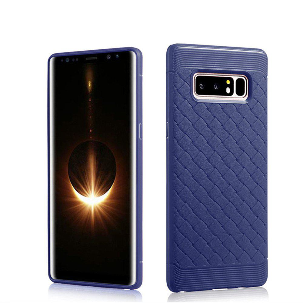 Cover Case for Samsung Galaxy Note 8 Luxury Soft Silicone TPU Ultra-thin Slim Back Coque Fundas - BLUE
