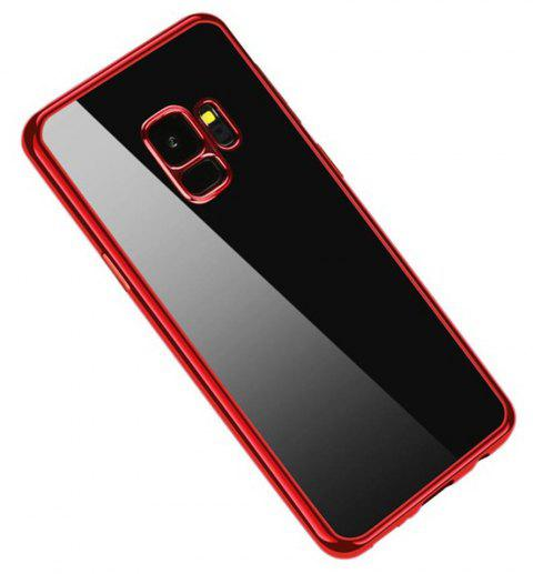 Cover Case for Samsung Galaxy S9 Coque Funda Plating TPU - RED