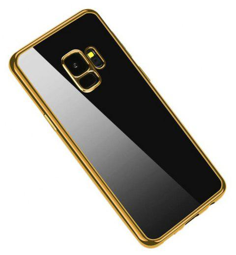 Cover Case for Samsung Galaxy S9 Coque Funda Plating TPU - GOLD
