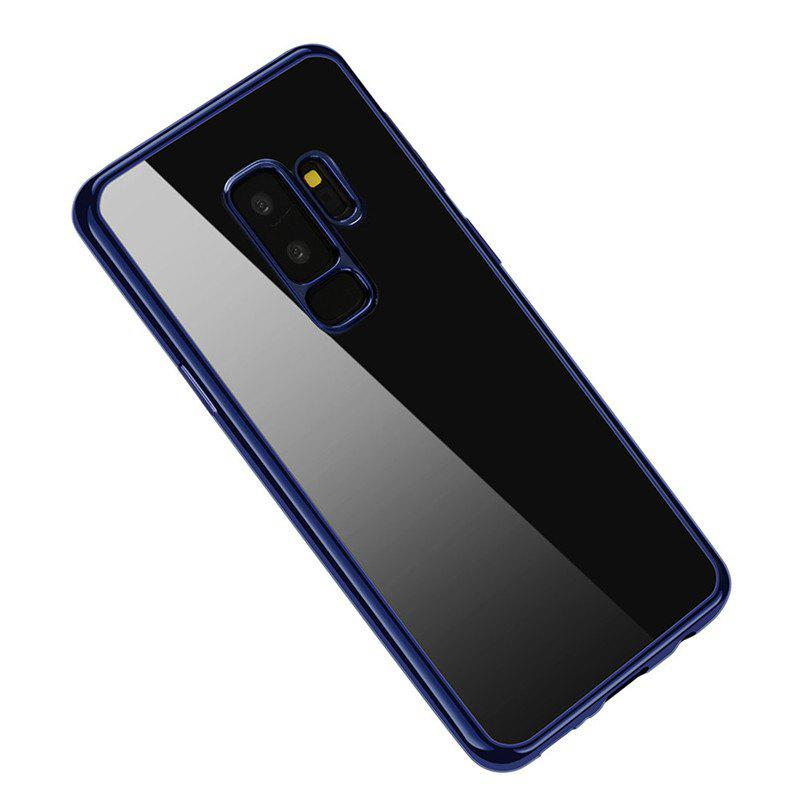 Cover Case for Samsung Galaxy S9 Plus Coque Funda Plating TPU - BLUE