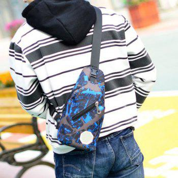 Carry  Sports Bag With a Slanted Hand - BLUE EYES
