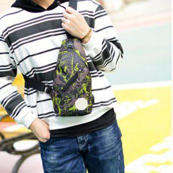Carry  Sports Bag With a Slanted Hand - PISTACHIO GREEN