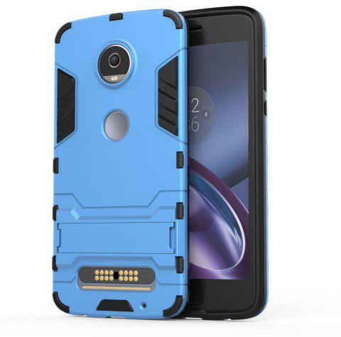 Armor Case for Motorola Moto Z2 Play Silicon Back Shockproof Protection Cover - BLUE