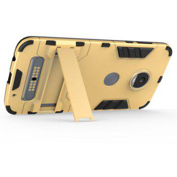 Armor Case for Motorola Moto Z2 Play Silicon Back Shockproof Protection Cover - GOLD