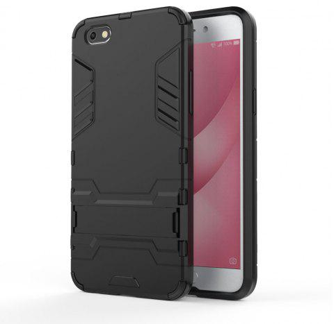 Armor Case for OPPO A77 Silicon Back Shockproof Protection Cover - BLACK