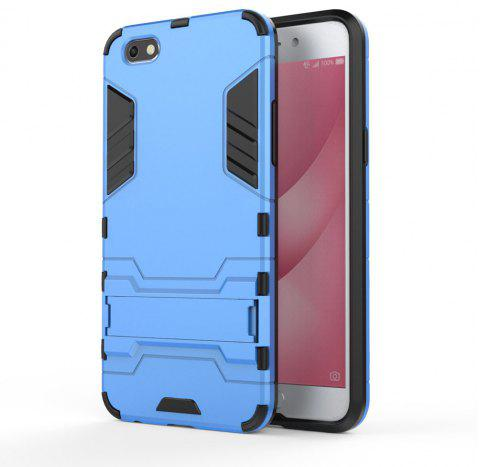 Armor Case for OPPO A77 Silicon Back Shockproof Protection Cover - BLUE