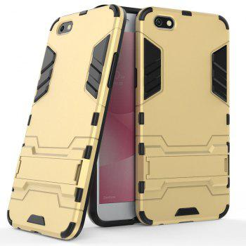 Armor Case for OPPO A77 Silicon Back Shockproof Protection Cover - GOLD