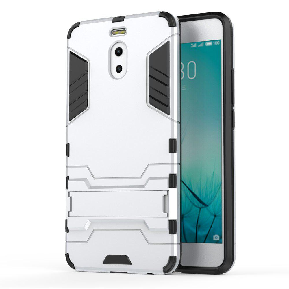 Armor Case for Meizu M6 Note Silicon Back Shockproof Protection Cover - SILVER