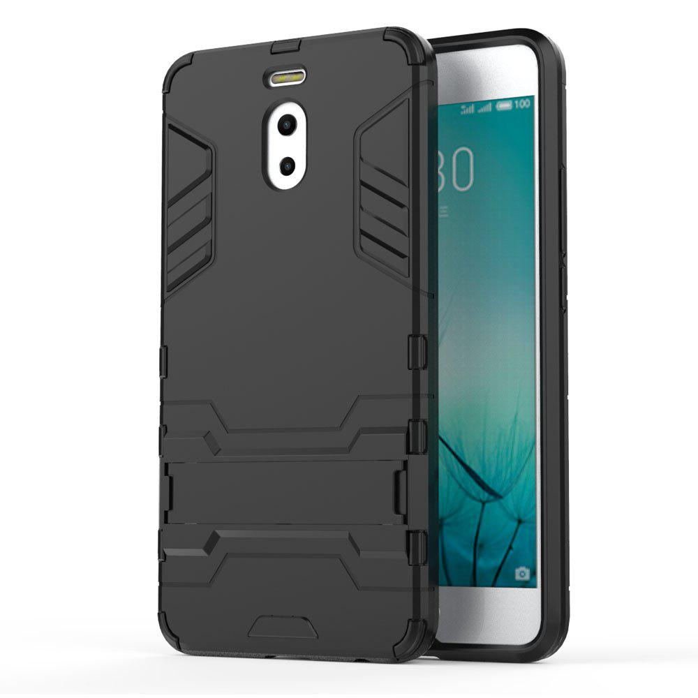 Armor Case for Meizu M6 Note Silicon Back Shockproof Protection Cover - BLACK