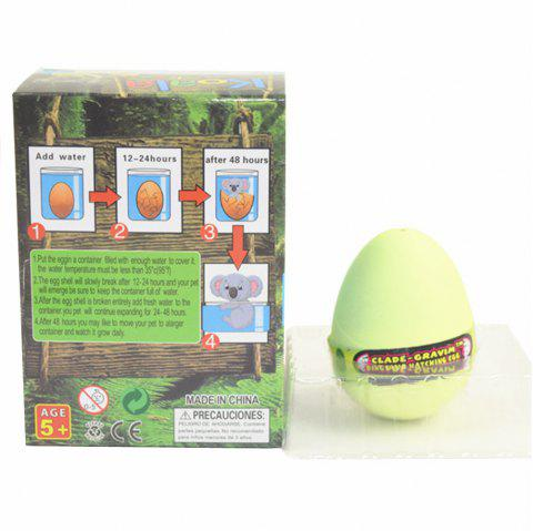 Koala Egg Water Hatching Magic Children Kids Toy - LEMON CHIFFON