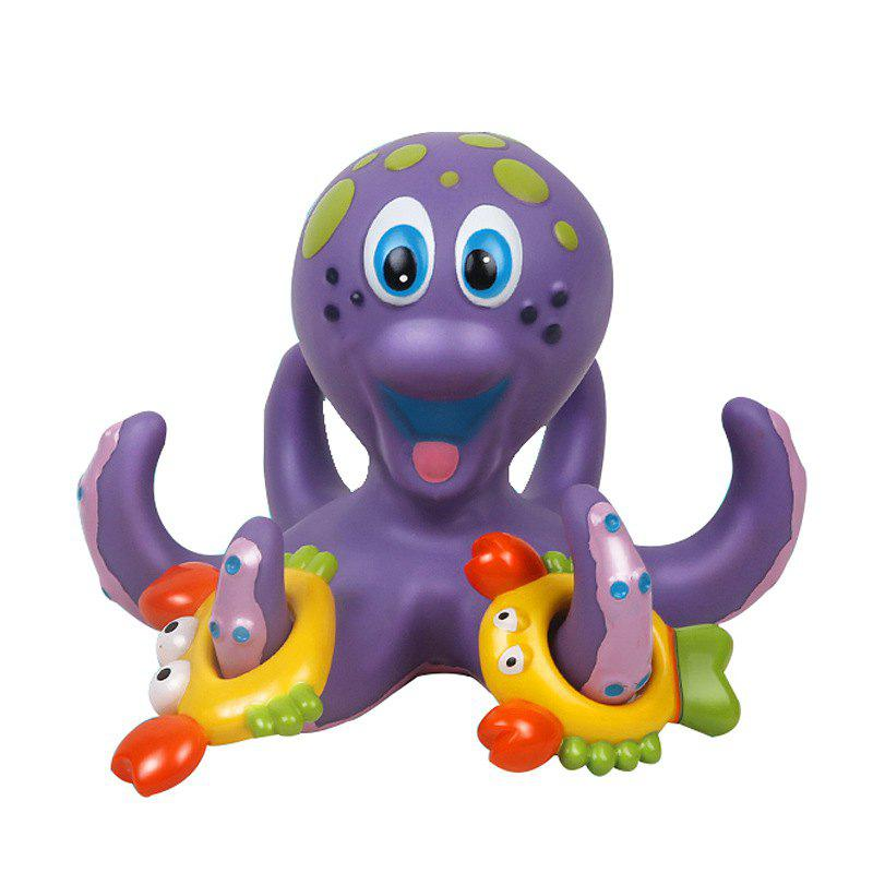 Octopus Hoopla Bathtime Fun Toys - NAVY CAMOUFLAGE