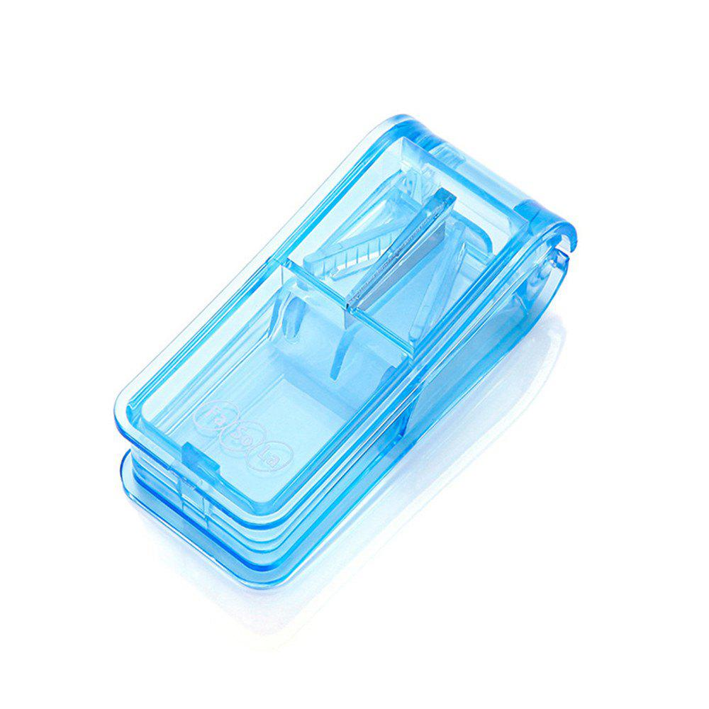 Home Portable Pill Box Dispenser - SKY BLUE