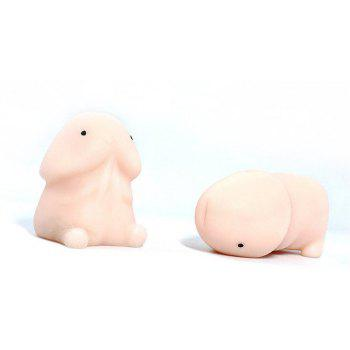 Cute Jumbo Squishy Slow Rising Soft Cream Scented Squeeze for Stress Relief 2PCS - multicolor