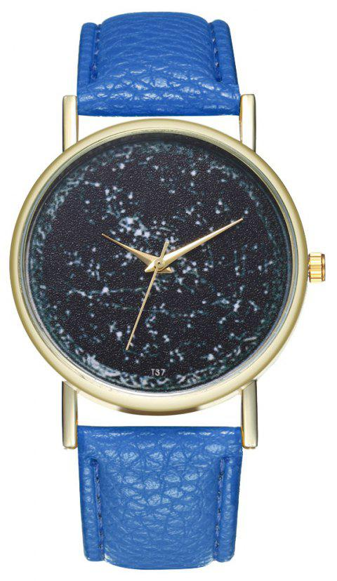 Zhou Lianfa T37 Trendy Casual Fashion Quartz Watch - OCEAN BLUE