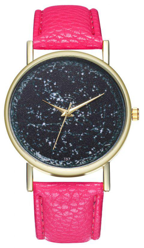 Zhou Lianfa T37 Generous Fashion Watch - PALE VIOLET RED
