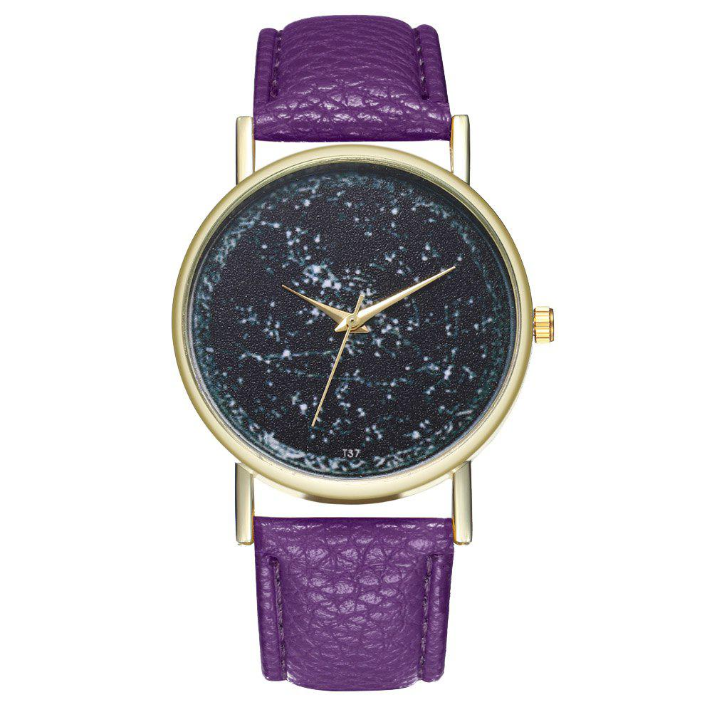 Zhou Lianfa T37 Generous Fashion Watch - VIOLET