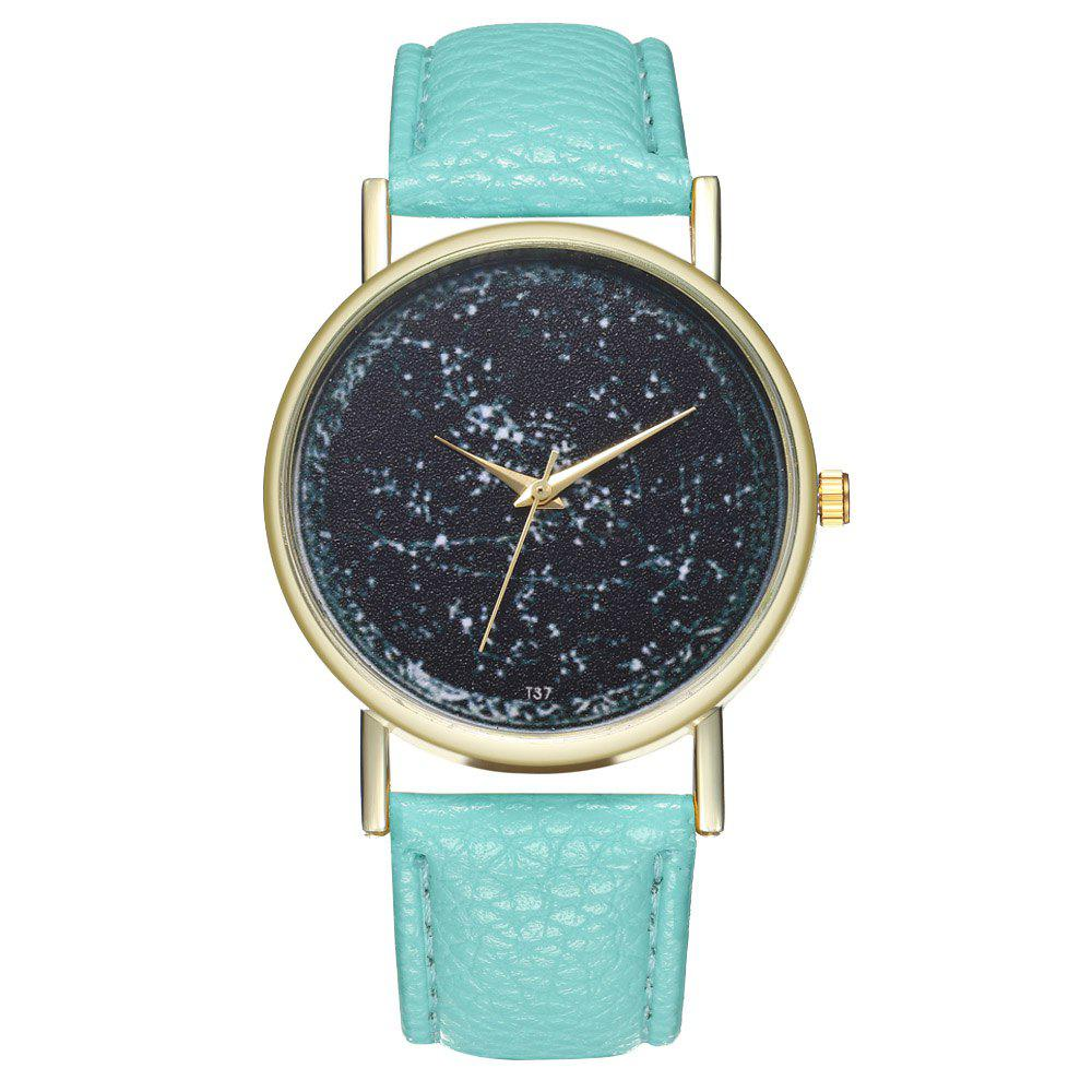 Zhou Lianfa T37 Generous Fashion Watch - LIGHT SLATE