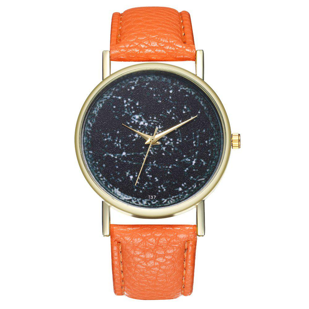 Zhou Lianfa T37 Generous Fashion Watch - ORANGE