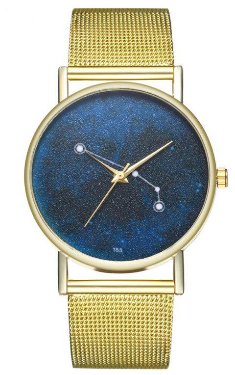 ZhouLianFa T54 Trendy Creative Quartz Watch - GOLD