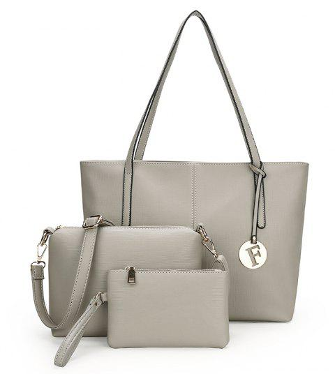 New Women'S All-match Handbag Fashion Shoulder Bag - BATTLESHIP GRAY