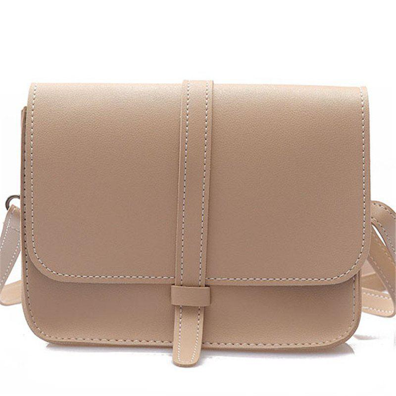 Small Bag Female Forest Department of Wild Messenger Shoulder Simple Student Package - DEEP PEACH
