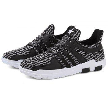 New Spring and Autumn Solid Color Lightweight Comfortable Casual Shoes - GRAY GOOSE 40