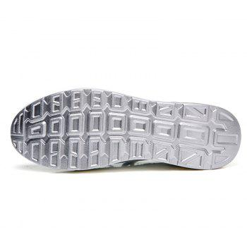 New Women Lightweight Breathable Simple Fashion White Shoes - MILK WHITE 40