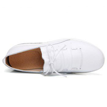 New Women Lightweight Breathable Simple Fashion White Shoes - MILK WHITE 39