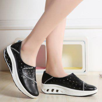 New Women Lightweight Breathable Sweat-Absorbent Non-Slip Shoes - BLACK 42