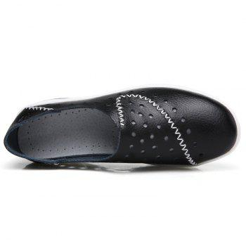 New Women Lightweight Breathable Sweat-Absorbent Non-Slip Shoes - BLACK 36