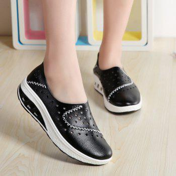 New Women Lightweight Breathable Sweat-Absorbent Non-Slip Shoes - BLACK 41