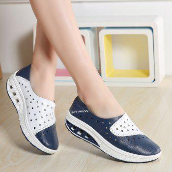 New Women Lightweight Breathable Sweat-Absorbent Non-Slip Shoes - BLUE DRESS 42