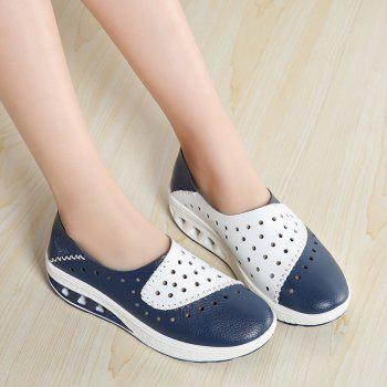 New Women Lightweight Breathable Sweat-Absorbent Non-Slip Shoes - BLUE DRESS 36