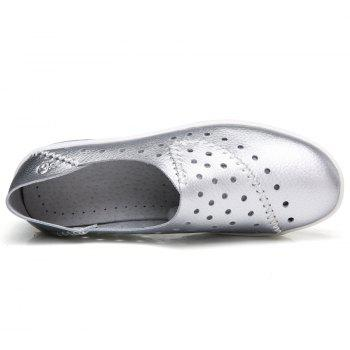 New Women Lightweight Breathable Sweat-Absorbent Non-Slip Shoes - SILVER 41