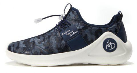 New Men Cool Light Breathable Casual Shoes - BLUEBERRY BLUE 44