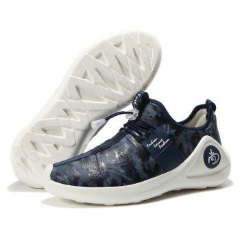 New Men Cool Light Breathable Casual Shoes - BLUEBERRY BLUE 40