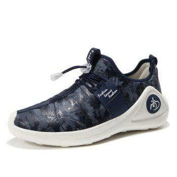 New Men Cool Light Breathable Casual Shoes - BLUEBERRY BLUE 42