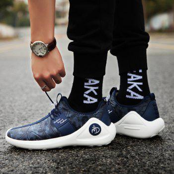 New Men Cool Light Breathable Casual Shoes - BLUEBERRY BLUE 43