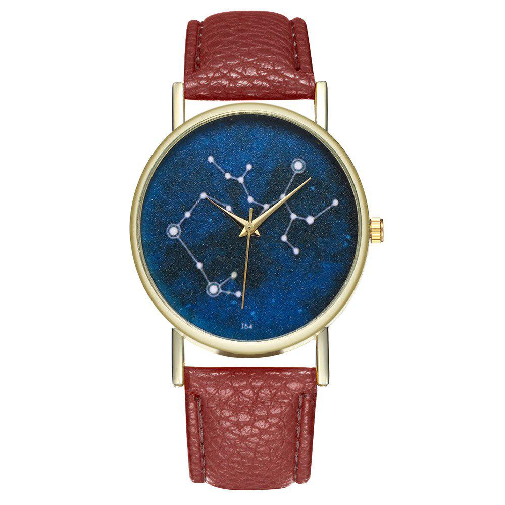 Zhou Lianfa Brand Sagittarius Watch - COFFEE