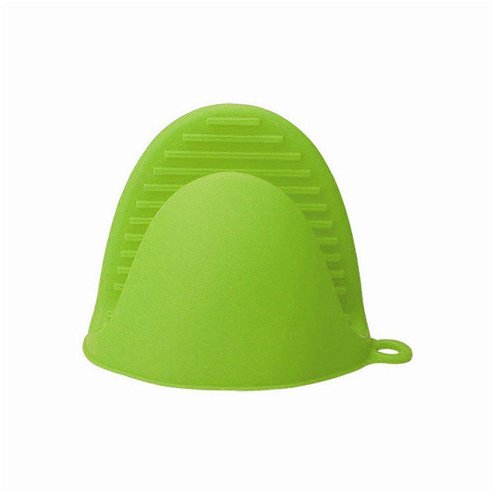 Anti-scald Bowl Clip for Kitchen - LIME GREEN