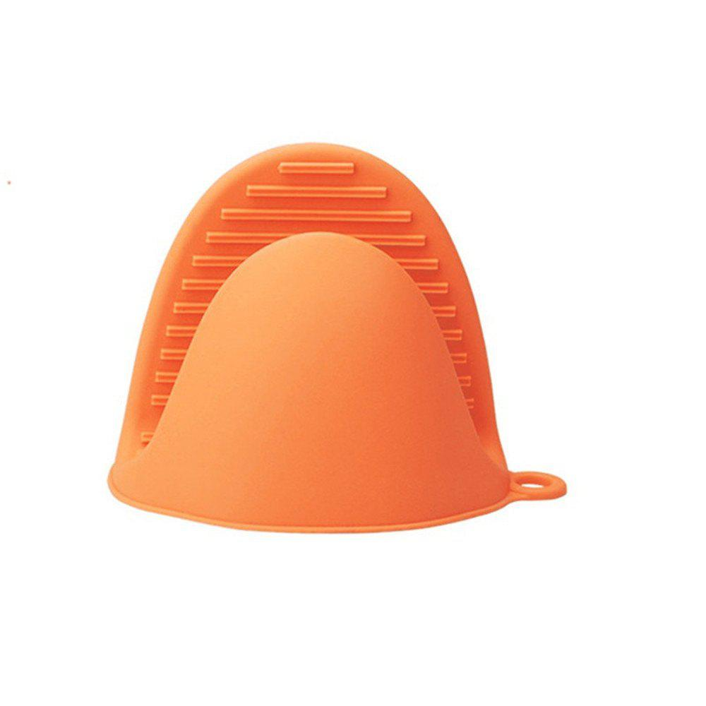 Anti-scald Bowl Clip for Kitchen - CONSTRUCTION CONE ORANGE