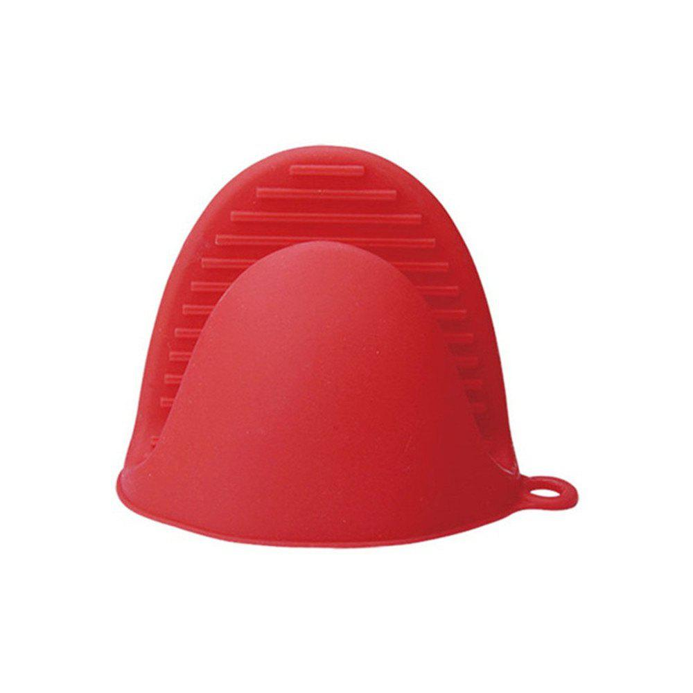 Anti-scald Bowl Clip for Kitchen - CHERRY RED