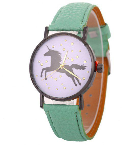 Unicorn Explosive Bracelet Watch - GREEN